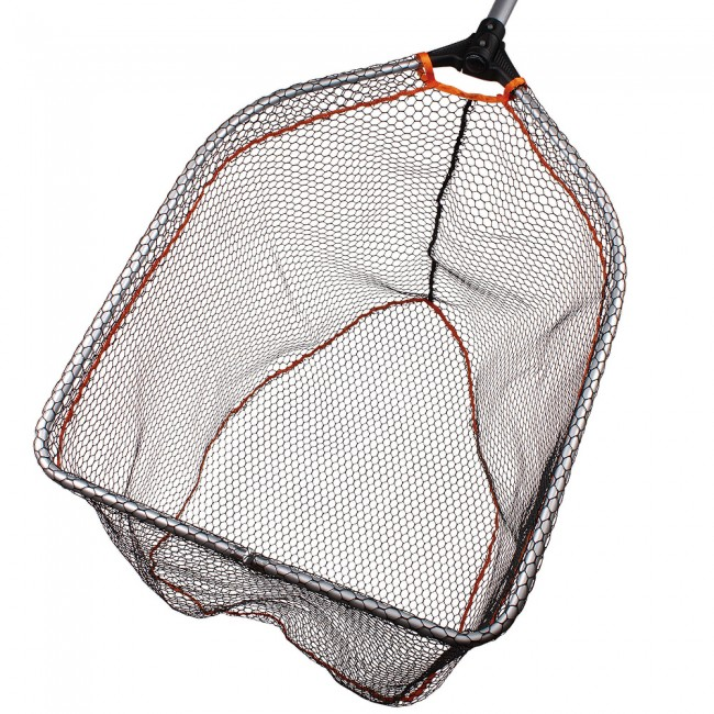 Savage Gear Pro Folding Rubber Large Mesh Landing Net XL Håv