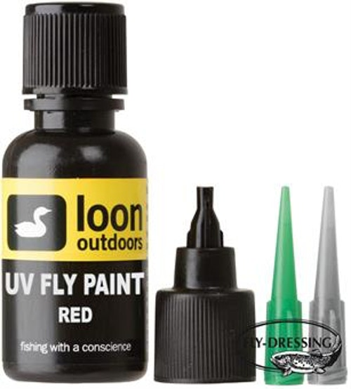 Loon UV Fly Paint (Red Fly Paint)