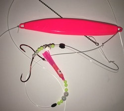 Depåns Pillemetetackel Fast (rosa/neonröd)
