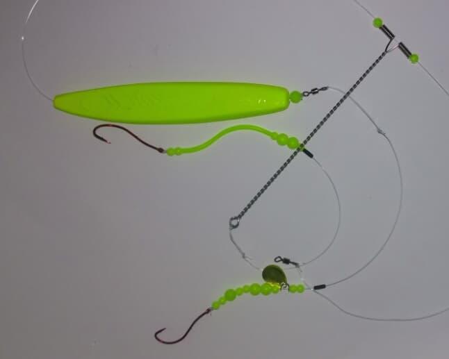 Depåns Pillemetetackel neongul genomlöpare (130g)