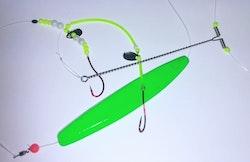 Depåns Pillemetetackel Neongrön Genomlöpare (130g)