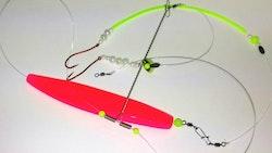 Depåns Pillemetetackel Neonrosa Genomlöpare 130g