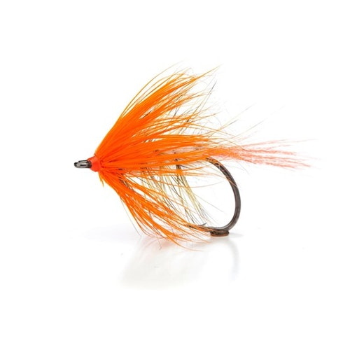 Unique Flies Vinterfluen Orange #4