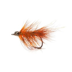 Unique Flies Orange Frede #6