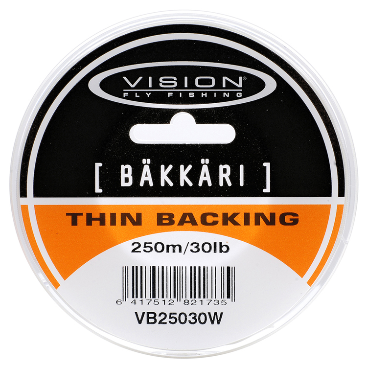 Vision Backing Bäkkäri White 50m 20lb