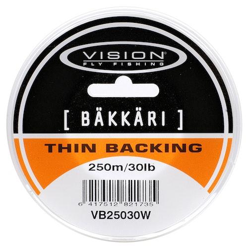 Vision Backing Bäkkäri White 50m 20lb