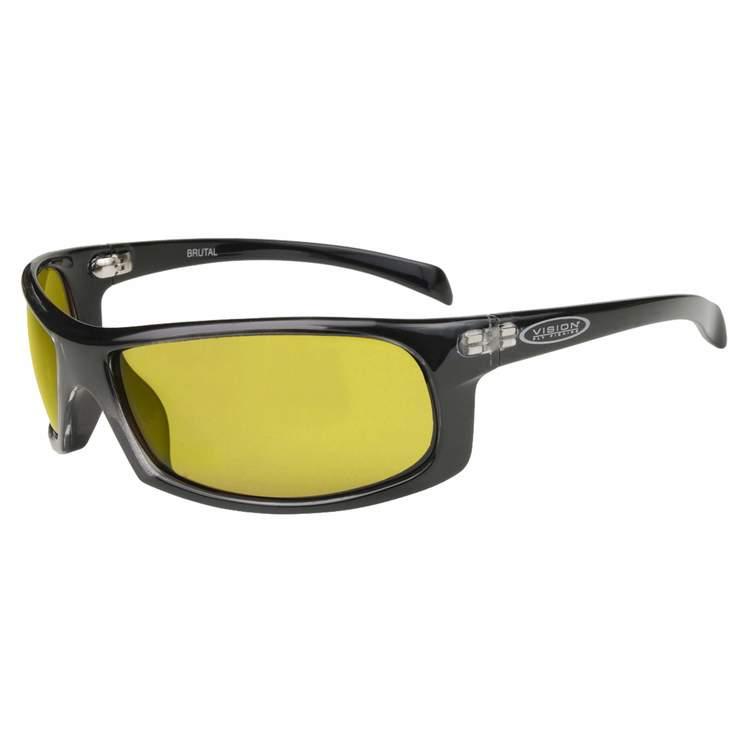 Vision Brutal Sunglasses Yellow
