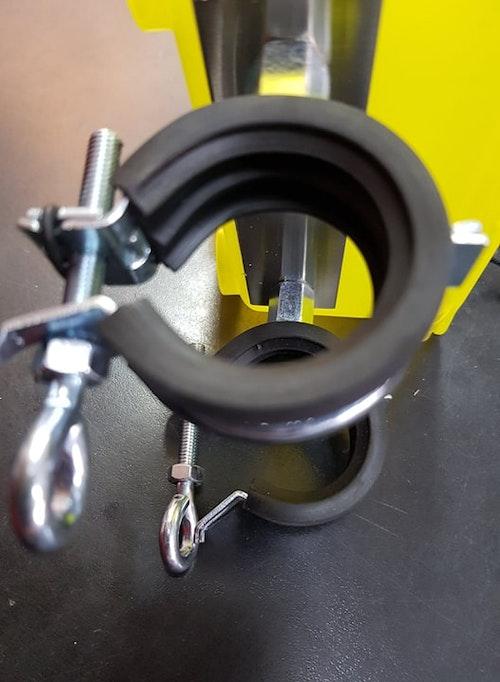 Mack-Tackelbox - Maskburk till reling