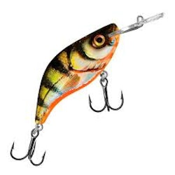 Salmo Sparky Shad 4 cm Yellow Holographic Perch