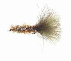 Unique Flies Borsteormen Oliven/Brun