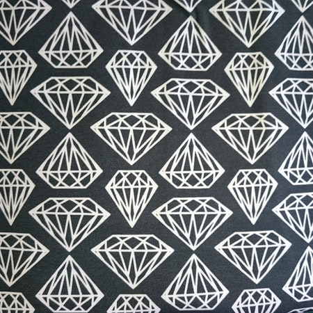 Grafitgrå Diamant
