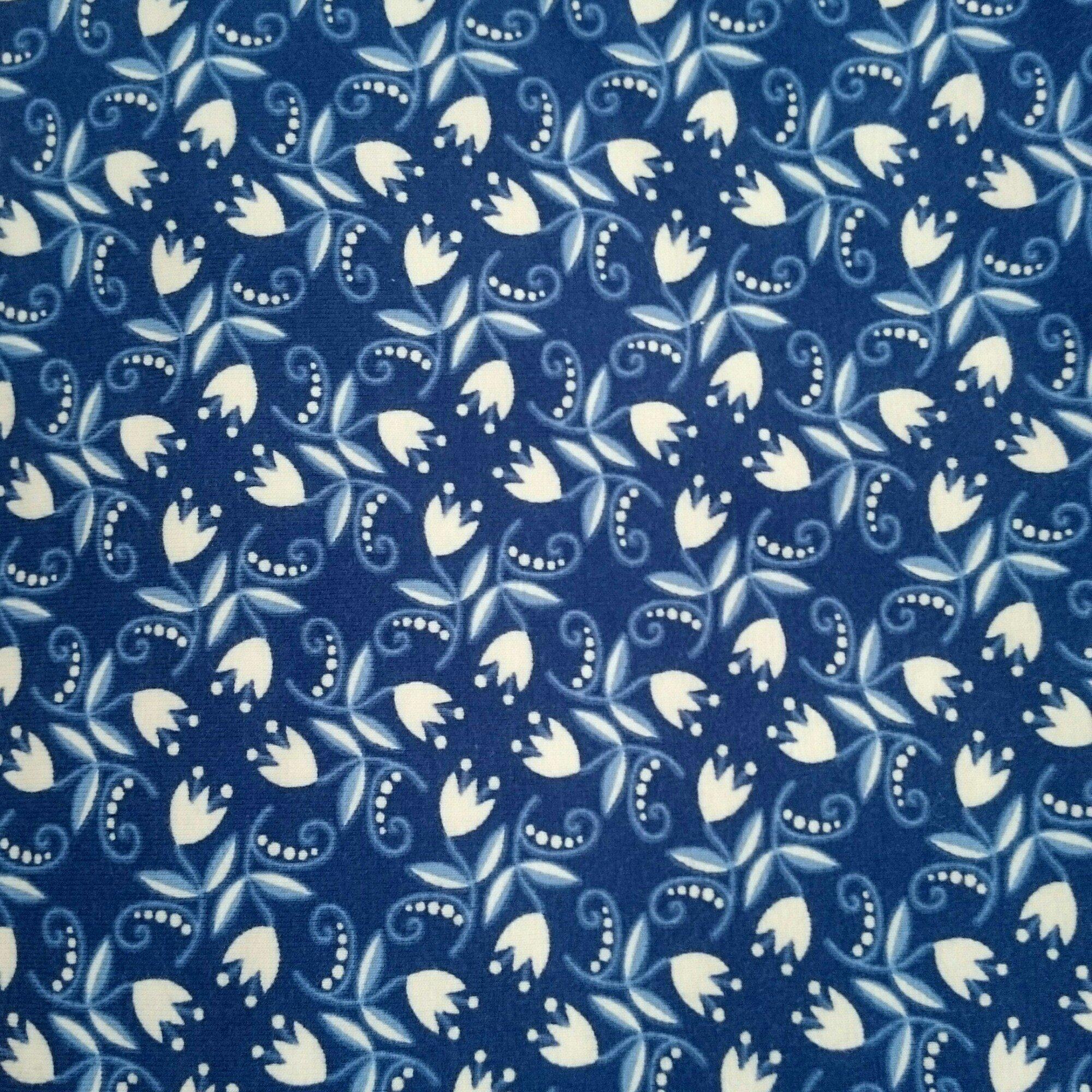 Blå Porslin