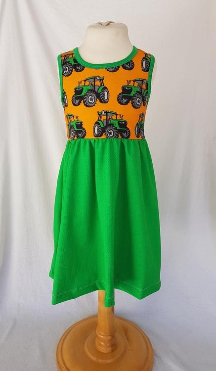 Klänning traktor.