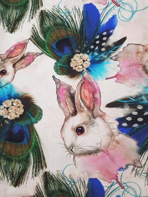 Kanin och Påfågel