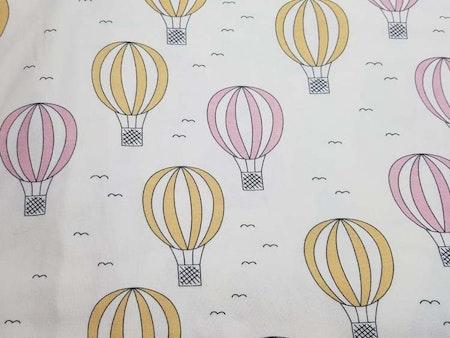 Luftballong Rosa och Gul