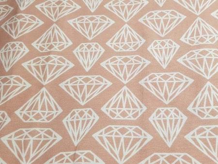 Diamant Korallrosa
