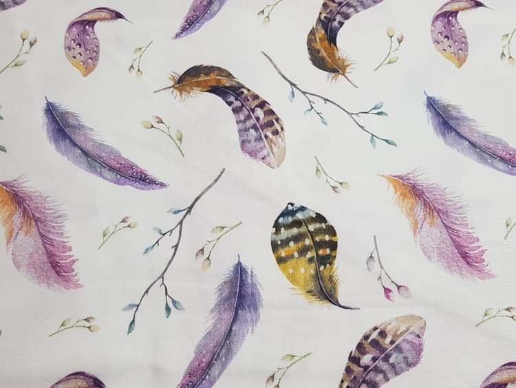 Fjädrar färg
