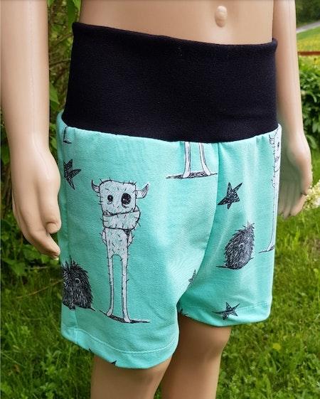Tshirt Och Shorts - Monster (116)