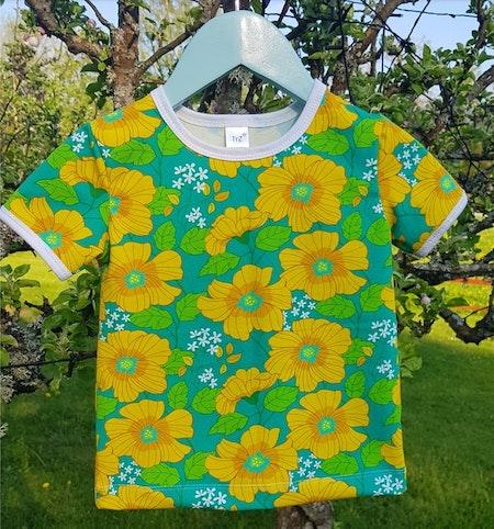 Tshirt Flowers (92/98)