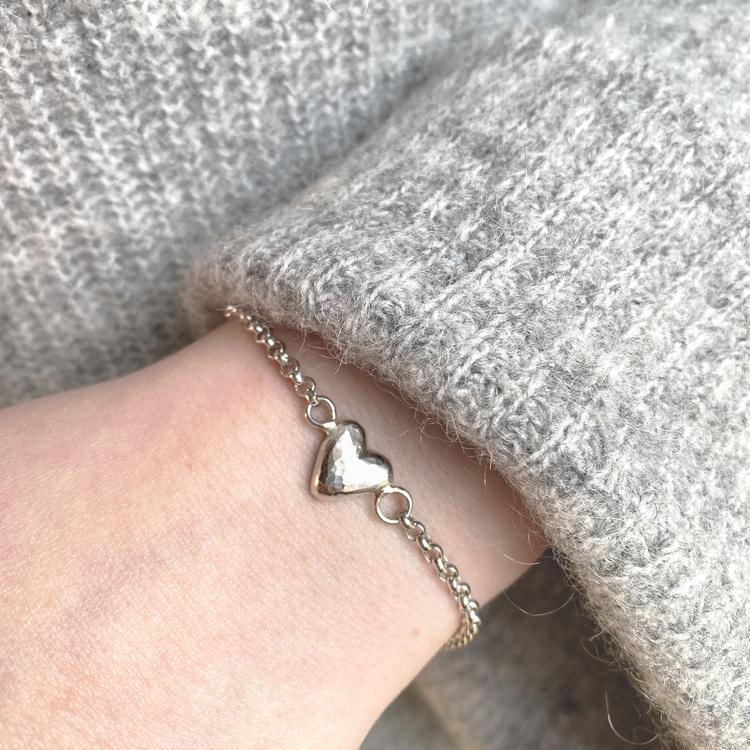 MAJA armband hjärta