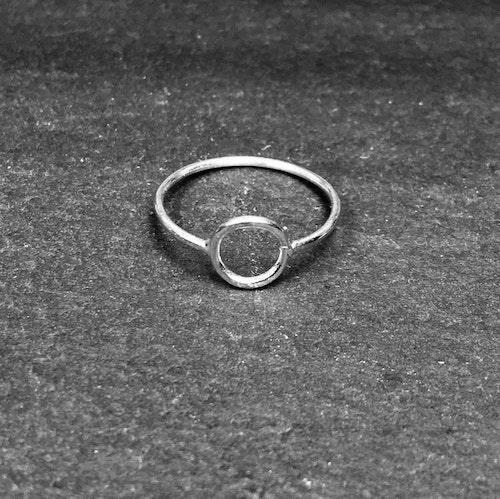 SMALL PI RING 925 SILVER