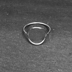 BIG PI RING 925 SILVER