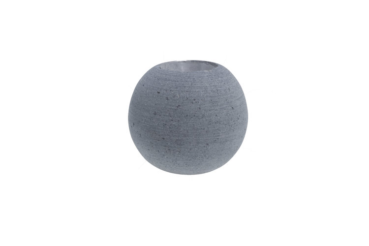 Stenåsa Ljusboll Mörkgrå mellan 8 cm