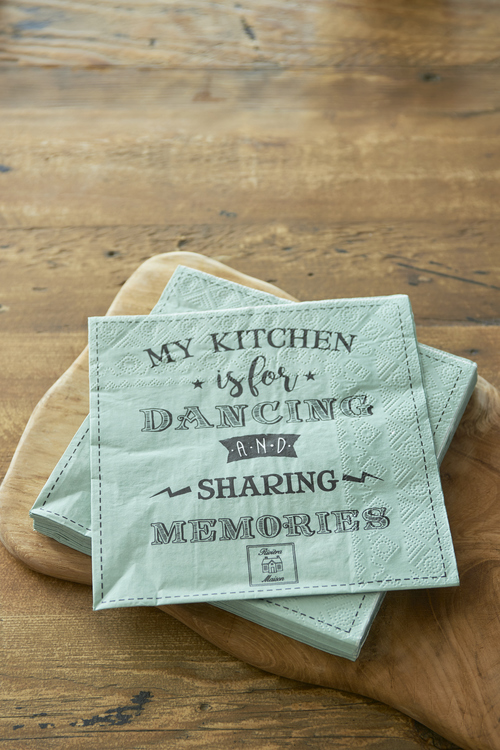 Paper Napkin, My Kitchen is For Dancing