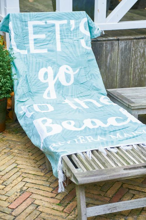 Let´s Go To The Beach 100x180cm