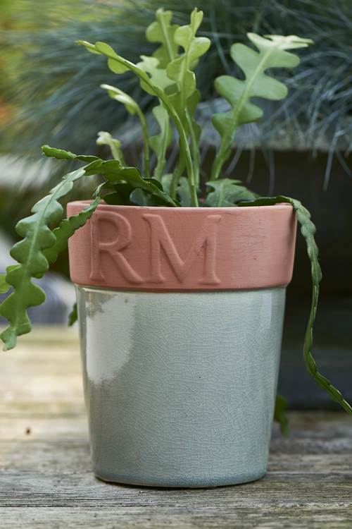 Classic Ceramic Pot Dark Green
