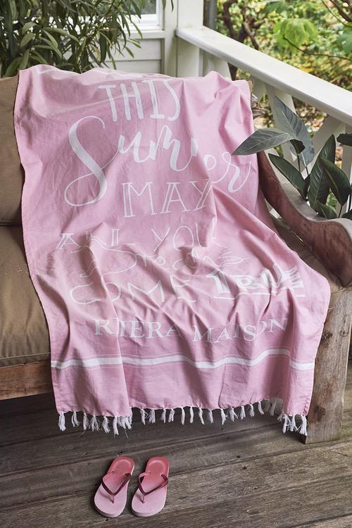 This Summer Hammam Towel 100x180cm