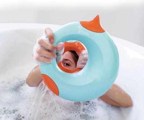 Vattenkanna - Quut - Orange/Blå - (1 liter)