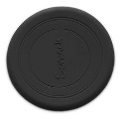 Frisbee - Silikon - Svart - 16 cm