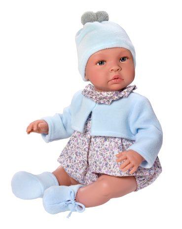 Leo - Babydocka - Blommig - 46 cm
