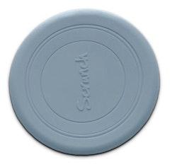Frisbee - Silikon - Ljusblå - 16 cm