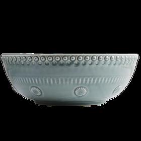 Salladsskål - Cement - 30 cm