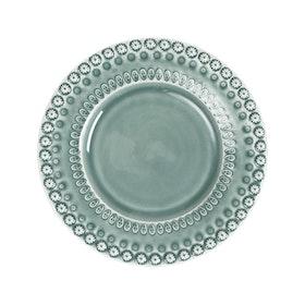 Desserttallrik - 22 cm - Cement