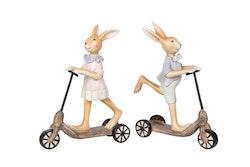 Kanin - Pojk på cykel - 12 cm