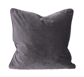 Kopi Kuddfodral Lyx Sammet Purple/Grey