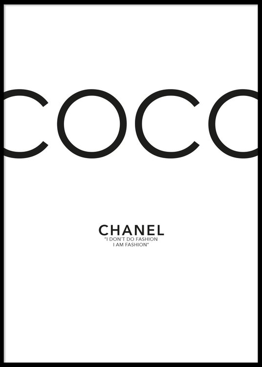 Coco Chanel Poster