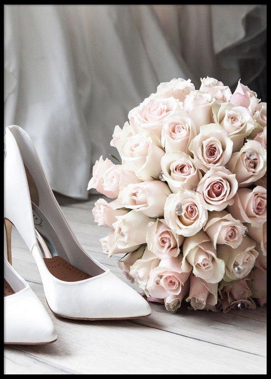 Bride Rose Poster