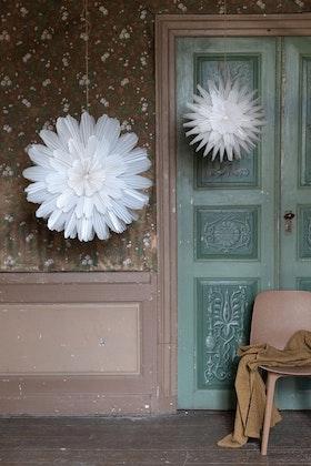 Fönsterstjärna - Snöblomma - 44 cm