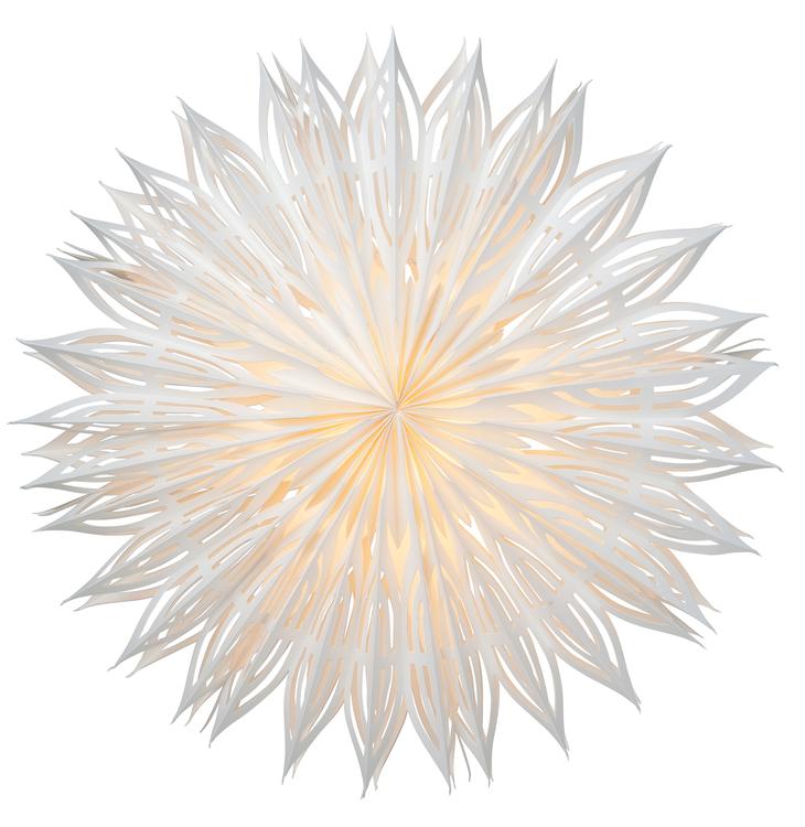 Fönsterstjärna - Is - 60 cm.