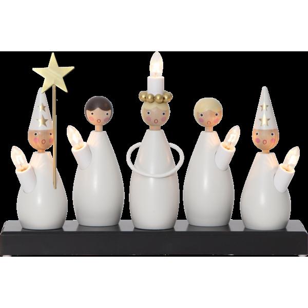 Ljusstake - Lucia choir