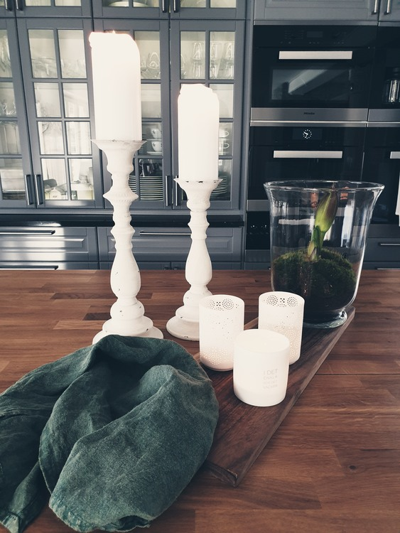 Ljusstake - Chantal - 38 cm