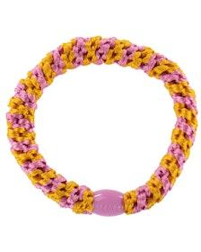 Hårsnodd - Jaffa/Bubblegum Stripe