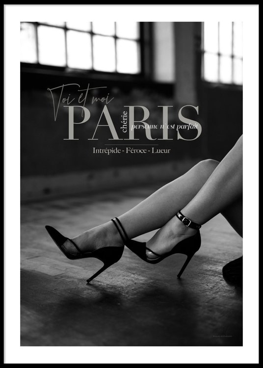Paris High Heels - Poster