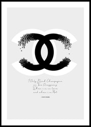 Coco Chanel - Poster