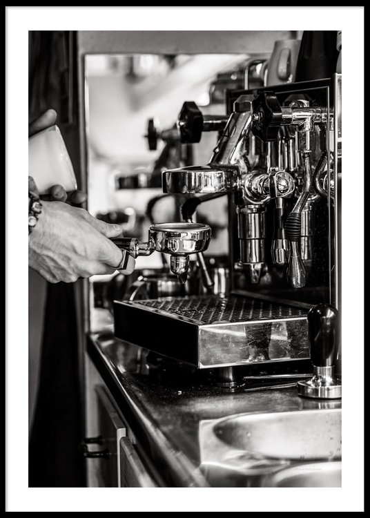Coffe Making - Poster