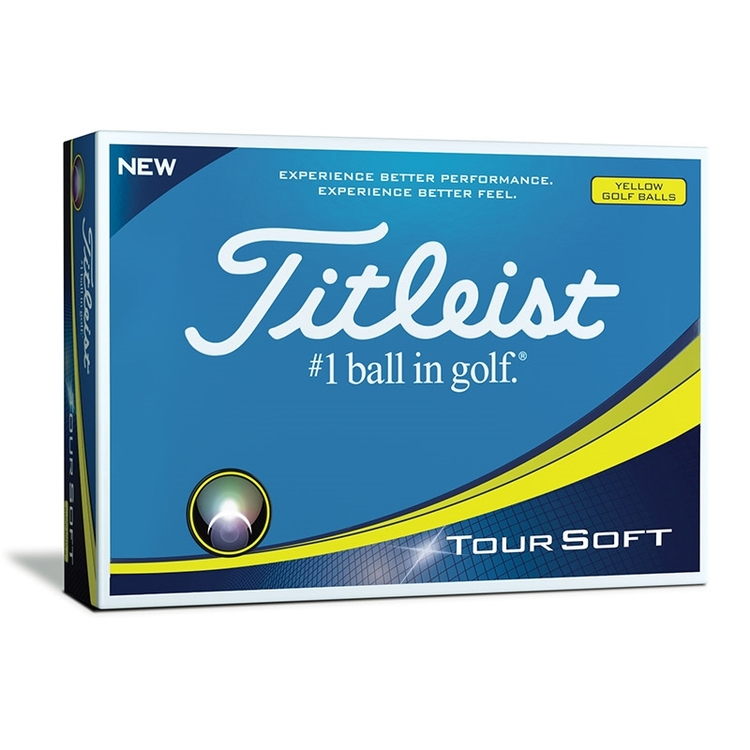 Titleist Tour Soft Gul